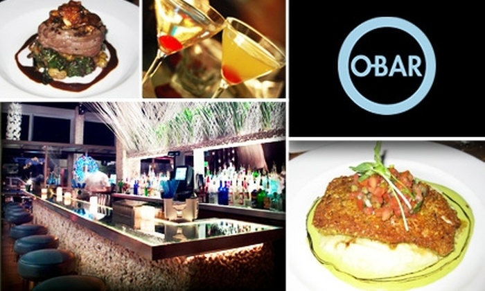 O-Bar - West Hollywood: $25 for Prix Fixe Three-Course Dinner and Wine Pairing at O-Bar Restaurant and Lounge ($54 Value)