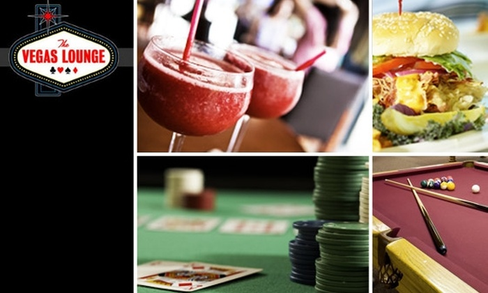 The Vegas Lounge  - Norwood: $15 for $35 Worth of Pool and Food at The Vegas Lounge