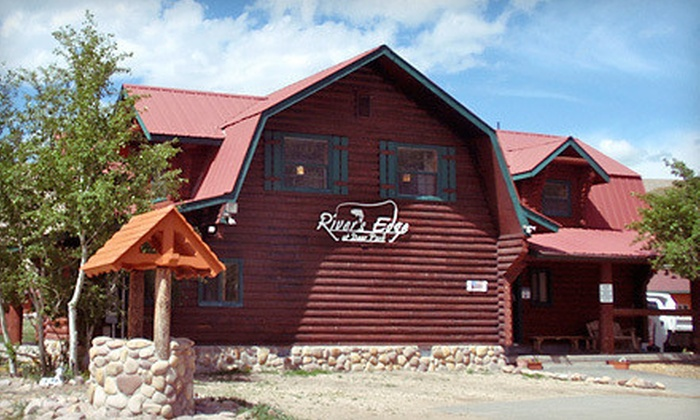 River's Edge at Deer Park - Heber City, UT: Two-Night Stay in a Cabin Monday–Thursday or Friday–Sunday at River's Edge at Deer Park in Heber City (Up to 55% Off)