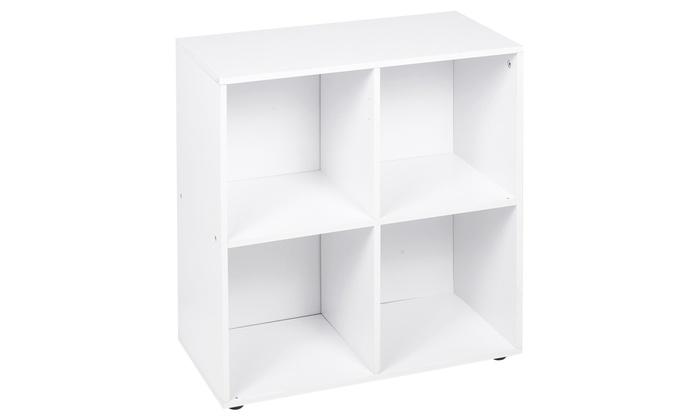 Four-, Six- or Nine-Cube Storage Unit with Optional Doors