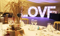 Wedding Package for 60 Day and 100 Evening Guests at Netley Hall (65% Off)