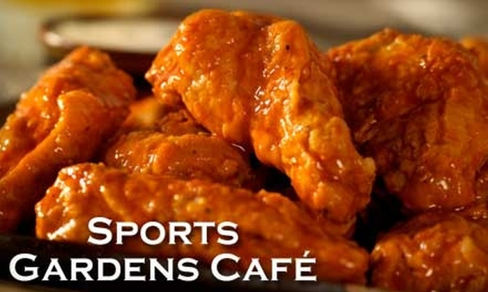 Sports Garden Café - Whitby: $15 for $30 Worth of Burgers, Platters, Drink and More at Sports Garden Café at Iroquois Park Sports Centre in Whitby