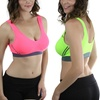 Sports Bras in Regular and Plus Sizes (3-Pack)