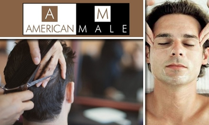 American Male Salon - Mountain View: $25 for a Men's Quality Grooming Haircut at American Male Salon ($50 Value)