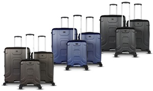 Gabbiano Luca Expandable Hard-Sided Spinner Set (3-Piece)