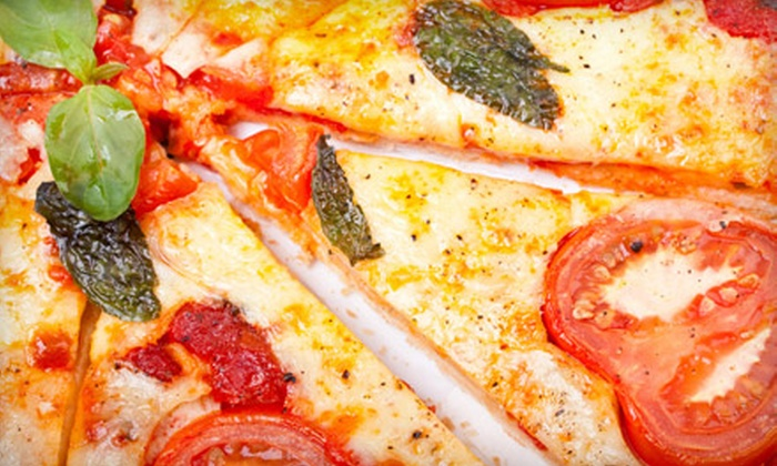 Paparazzi Pizza - Clear Lake: Italian Meal with Appetizer and Dessert for Two or $10 for $20 Worth of Pizzeria Fare at Paparazzi Pizza in Friendswood