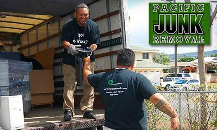 Pacific Junk Removal - Downtown Honolulu: $99 for Junk Removal from Pacific Junk Removal ($289 Value)