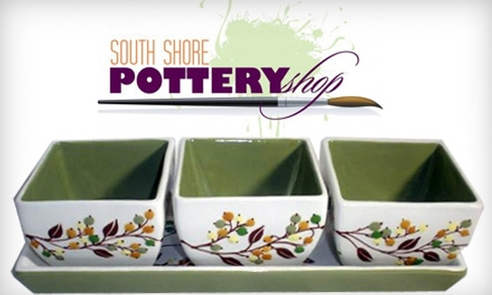 South Shore Pottery - Boston: $15 for $30 of Paint Your Own Pottery at South Shore Pottery Shop in Abington