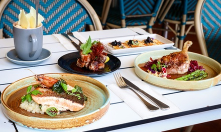 Three-Course Lunch or Dinner for Two ($69) or Four People ($138) at Jellyfish Cafe Manly (Up to $269.40 Value)