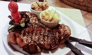 La Pergola (Ferrara): Menu con 1 kg di Fiorentina alla brace e bottiglia di vino al ristorante La Pergola