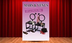 """Théâtre Athena: 2 places en catégorie 1 pour """"Mars et Vénus"""", à 22 € au Théâtre Athéna à Nice"""