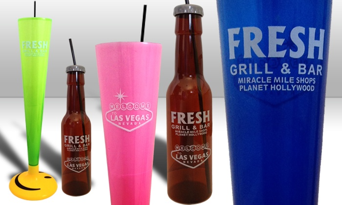 Fresh Grill & Bar - Miracle Mile Shops at Planet Hollywood Hotel & Casino: $21 for Two Yard-Sized Blended Liquor Drinks at Fresh Grill & Bar ($36 Value)