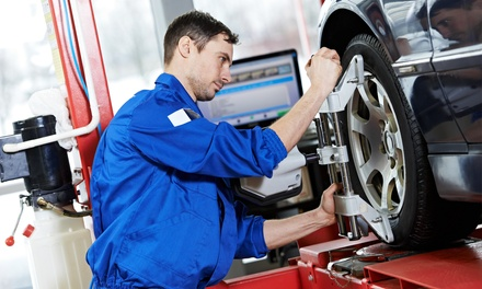 Full Wheel Alignment and Balancing Service for One ($45) or Two Cars ($90) at Tyrezone Capalaba (Up to $270 Value)