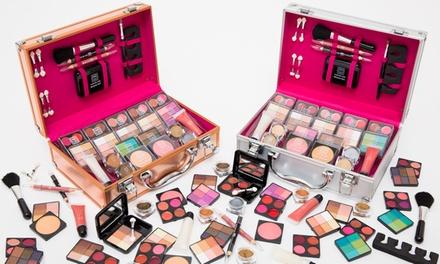 Malette Vanity case de 80 pièces disponible en or rose ou argenté