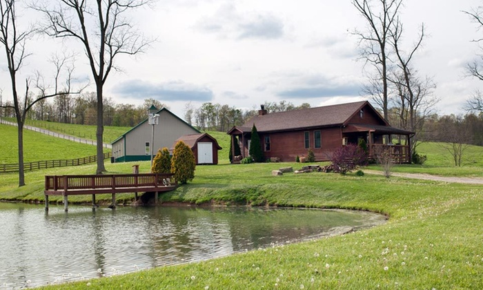 Pine Lakes Lodge - Salesville, OH: One- or Two-Night Stay with Option for Horseback Ride at Pine Lakes Lodge in Salesville, OH