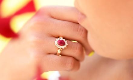Ah! Jewellery Precious Gemstone Ring