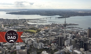 Flight Hauraki: $289 for a 45-Minute Scenic Skytower Buzz Flight for 2-3 People with Flight Hauraki, CBD ($477 Value)