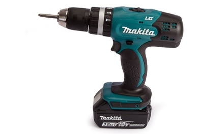 Makita Drill DHP453 Body with Optional Battery, Charger and Bag from £34.99 With Free Delivery