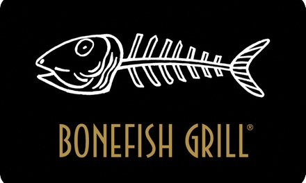 groupon.com - $50 eGift Card to Bonefish Grill ($5 Off)