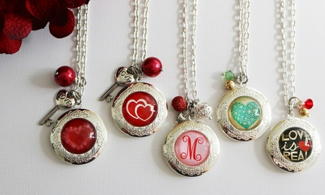 One or Two Personalized My Special Valentine Lockets from KraftyChix (Up to 53% Off) a81d2d5b-ace0-4255-aa83-66bb4a00290d