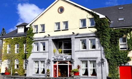 Co. Donegal: 1 or 2 Nights for Two with Breakfast and €20 Dining Credit at 4* Jackson's Hotel