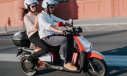 Paga 0€ por un bono de 15€ GRATIS para alquiler de moto en ACCIONA MOVILIDAD