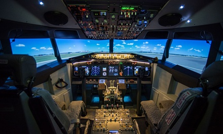 30-Minute Boeing 737-800 Flight Simulator Experience at Virtual Jet Centre (51% Off)