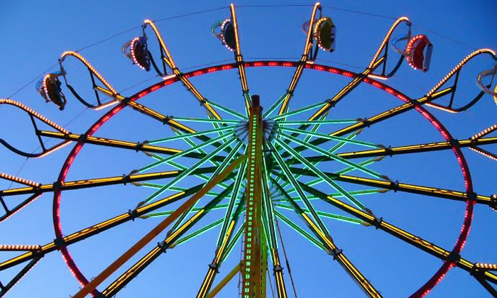 Williamson County Fair - Franklin: Williamson County Fair Visits August 7–15 (Up to 44% Off). Four Options Available.