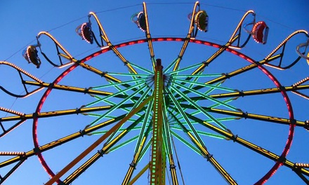 Williamson County Fair Visits August 7–15 (Up to 44% Off). Four Options Available.