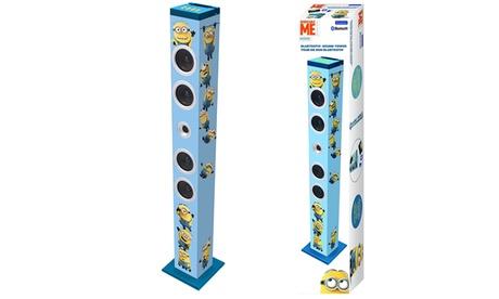 Torre de sonido Bluetooth con diseño de Los Minions Oferta en Groupon