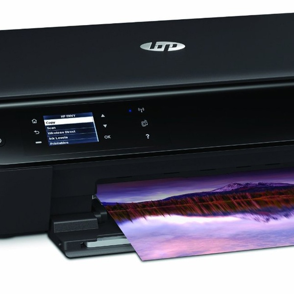 HP Envy 4500 Wireless All-in-One Color Photo Printer with Ink (Refurbished)