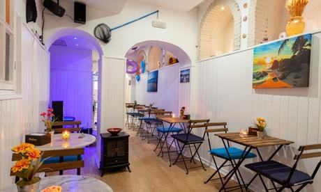 Degustación de cerveza artesanal con opción a menú de tapas en Oasis Beach Madrid Bar (hasta 50% de descuento)