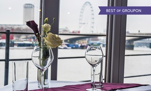 The Yacht London: Two-Course Lunch for One or Two at The Yacht London