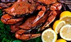 Cork Crab Fest - San Francisco: Crab or Lobster Buffet with Drinks at Cork Seafood Festival on Sunday, February 16 (Up to 42% Off)