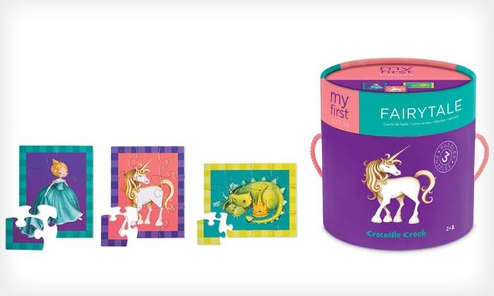Crocodile Creek Kids' Puzzle: $5.99 for a Crocodile Creek My First Fairy-Tale Puzzle Bundle ($15 List Price)