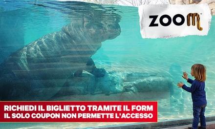 Zoom: ingresso solo allo zoo o ingresso combinato allo zoo più aree acquatiche da 15,90 € (sconto fino a 28%)