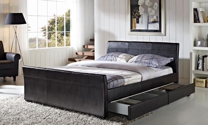Dresden Four-Drawer Bed in Choice of Colour