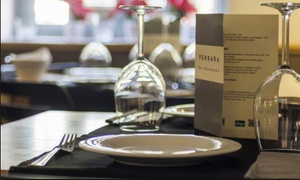 Ferrara Bar Gastronomía: Menú para dos con entrante, principal, postre y botella de vino o bebida por 49,95 € en Ferrara Bar Gastronomía