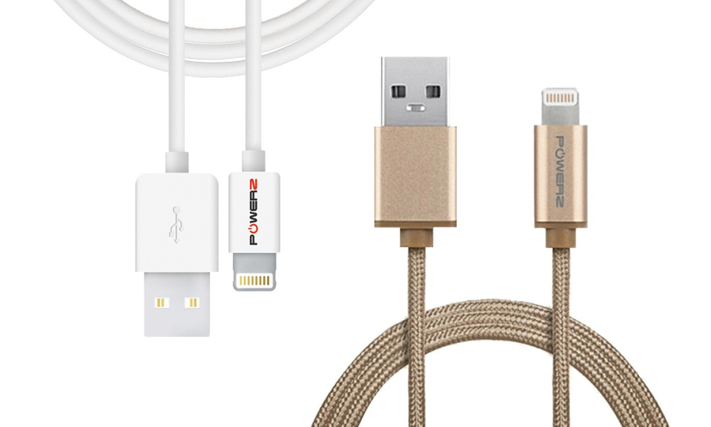 One, Two or Four USB Data Cables for iPhone