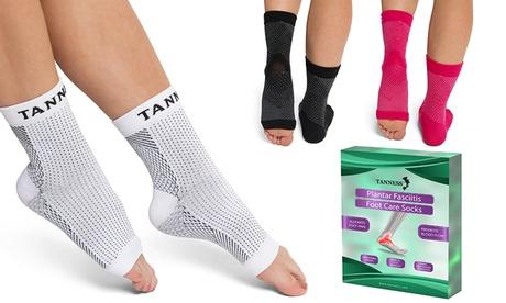 Hasta 3 pares de calcetines de compresión para la fascitis plantar