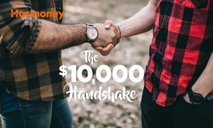 Harmoney: Entry into 'The $10,000 Handshake' with Harmoney