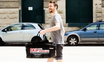Mississauga Restaurant Food Delivery from SkipTheDishes (Up to 50% Off). Two Options Available.