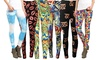 Riviera Plus-Size Printed Leggings (6-Pack) (Size 3X)