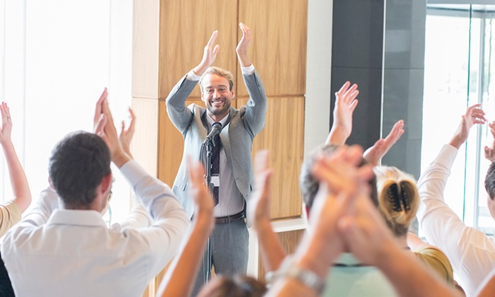 Communication, Public Speaking & Leadership Academy - Multiple Locations: Four-Week Public Speaking Course at Communication, Public Speaking & Leadership Academy (45% Off)