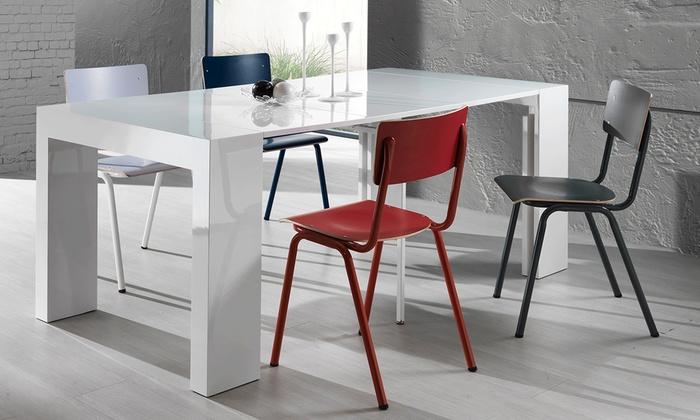 Set di 2 sedie da cucina tomasucci groupon goods for Groupon shopping arredamento