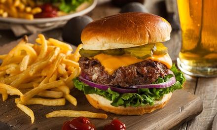 ⏰ Hamburger, patatine e bibita