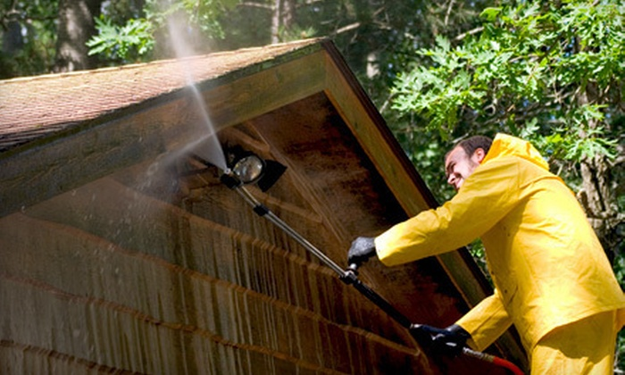 As Good As New, LLC - Arlington: Exterior Power Washing for Home of Up to 2,000 or 2,500 Square Feet from As Good As New, LLC (Up to 67% Off)