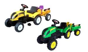 Tracteur à pédales pour enfant