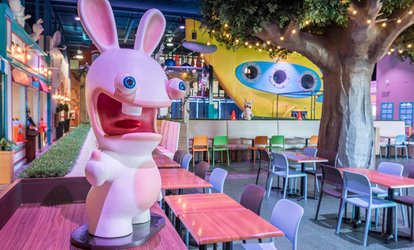 Admission for 1 Adult and 1 Child or 2 Adults and 2 Children to Rabbids Amusement Centre (Up to 39% Off)