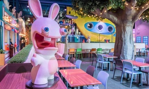 Centre Lapins Cretins: Admission for 1 Adult and 1 Child or 2 Adults and 2 Children to Rabbids Amusement Centre (Up to 39% Off)